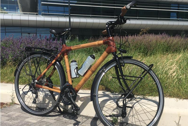 bamboe persoonlijke trekkingfiets bamboefietsen.nl