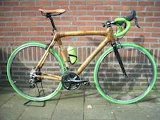 review bamboe racefiets Erik Bloklander